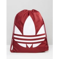 adidas OriginalsDrawstring Backpack In Red AY8702 - Red