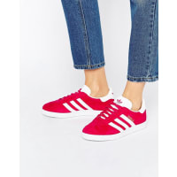 adidasOriginals Bright Pink Suede Gazelle Unisex Sneakers - Pink