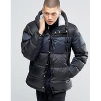 adidas OriginalsID96 Quilted Jacket In Black AY9155 - Black