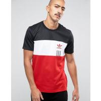 adidas OriginalsID96 T-Shirt In Black AY9249 - Black