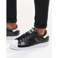 adidas OriginalsSuperstar Trainers In Black B42617 - Black