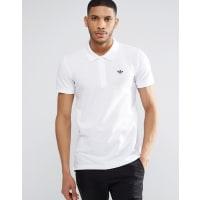 adidas OriginalsTrefoil Polo Shirt AZ0945 - White