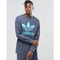 adidas OriginalsUtility - Sweatshirt mit Rundhalsausschnitt, AY7996 - Blau