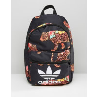 adidasOriginals X Farm Multi Leopard Print Backpack With Trefoil Logo - Multi