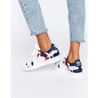 adidasOriginals X Rita Ora Paint Print Superstar Trainers - White