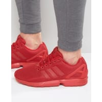 adidas OriginalsZX Flux Trainers In Red S32278 - Red