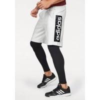 adidas PerformanceESSENTIALS LINEAR SHORT Shorts, weiß, Weiß-Meliert-Schwarz