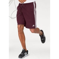adidas PerformanceShorts »ESSENTIALS 3S FRENCH TERRY SHORT«, rot, bordeaux