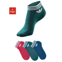 adidas PerformanceSneakersocken (3 Paar), bunt, rot + blau + grün