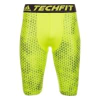 adidas PerformanceTechFit Chill Graphic Trainingstight Herren, grün, hellgrün