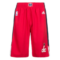 adidas PerformanceWashington Wizards Swingman Basketballshort Herren, rot, rot / weiß / blau