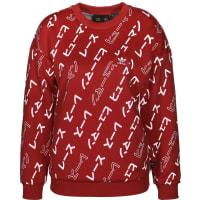 adidasPw W Sweater rot weiß