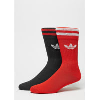 adidasSportsocke Solid Crew 2er Pack core red