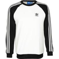 adidasSst Crew Sweater weiß schwarz weiß schwarz