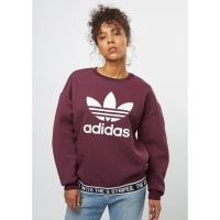 adidasSweatshirt TRF maroon
