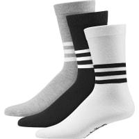 adidasThin Crew Graphic Socken schwarz weiß grau schwarz weiß grau