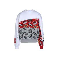 adidasJAMS BLOCKED CR - TOPS - Sweatshirts