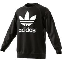 adidasTrefoil Crew Sweater schwarz schwarz