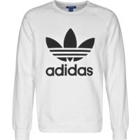 adidasTrefoil Crew Sweater weiß weiß