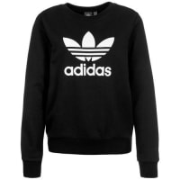 adidasTrefoil Crew Sweatshirt schwarz