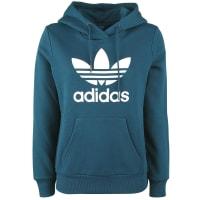 adidasTRF Logo Hoodie Girl-Kapuzenpulli blau