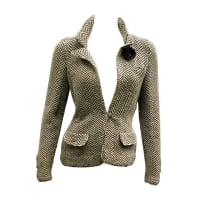 ADOLFO70s Adolfo Herringbone Wool Jacket