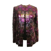 ADOLFOFor Saks Fifth Avenue Sequin Jacket