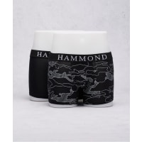 Adrian HammondClive 2-Pack Boxer Printed/Black