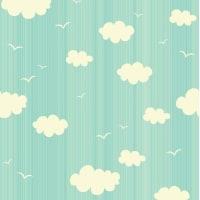 adsiveshopPapel de Parede Adesivo Clouds