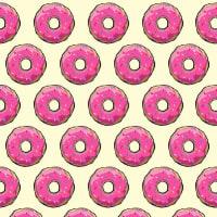 adsiveshopPapel de Parede Adesivo Cream Donuts
