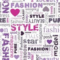 adsiveshopPapel de Parede Adesivo Fashion Style