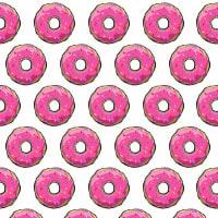adsiveshopPapel de Parede Adesivo Sugar Donuts