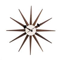 AEON FURNITURESunburst Clock - American Walnut
