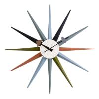 AEON FURNITURESunburst Clock - multi color