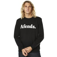 AfendsField Mens Crew Black