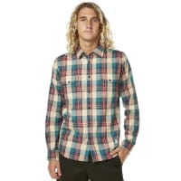 AfendsWooden Ls Mens Shirt Brown