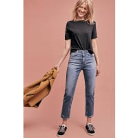 AG - Adriano GoldschmiedPhoebe Ultra High-Rise Tapered Jeans