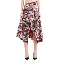 AganovichPrinted Woven Skirt