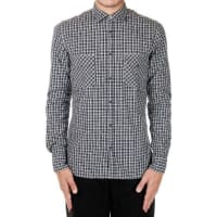 AgliniPopeline Cotton Checked Shirt Herbst/Winter