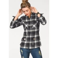 AJCNU 15% KORTING: geruite blouse