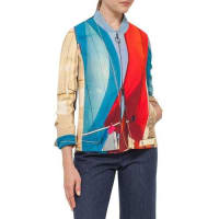 AkrisSail-Print Bomber Jacket, Mainsail Print