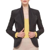 AkrisTech-Satin Pleat-Back Jacket