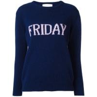 Alberta FerrettiFriday jumper, Womens, Size: 40, Blue