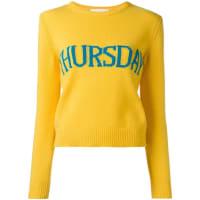 Alberta FerrettiThursday jumper, Womens, Size: 38, Yellow/Orange
