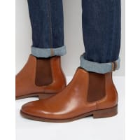 AldoCroaven Leather Chelsea Boots - Tan