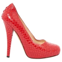 Alejandro IngelmoPre-Owned - Red Leather Heels