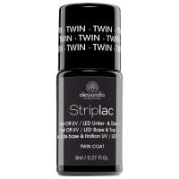 AlessandroTwin Coat Base & Top Nagelgel Striplac 8 ml