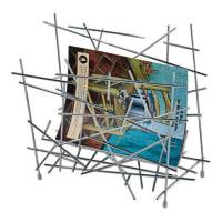 AlessiBlow up magasinstativ rustfritt stål