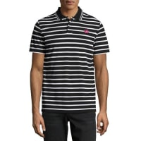 Alexander McQueenClean Polo 01, Striped Black