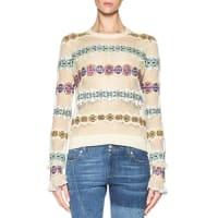 Alexander McQueenFair Isle Patchwork Sweater, Multi